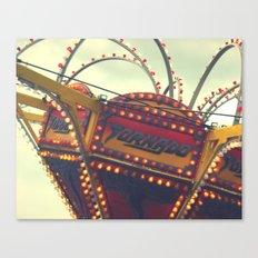 Vintage Carnival ~ The Tornado Canvas Print