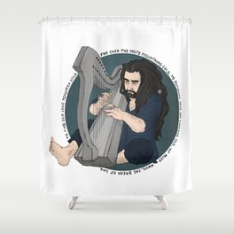 harpist Shower Curtain