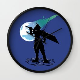 Cloud and the Meteor - Final Fantasy VII Wall Clock