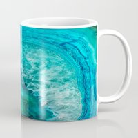 geode Mugs featuring Geode by Jenna Davis Designs