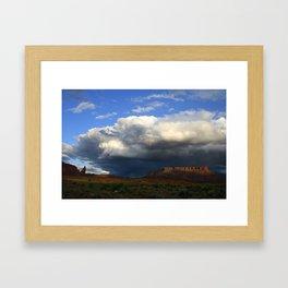 Storm & Sandstone Framed Art Print