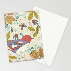 Bird and Butterfly  Stationery Cards