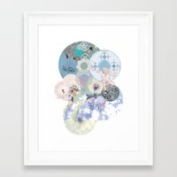 atheist Framed Art Prints featuring Death of the Invisible Space Teapot by Hindbrain Design
