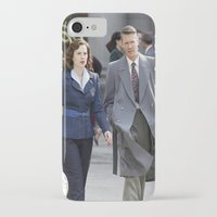agent carter iPhone & iPod Cases featuring Jack Thompson & Peggy Carter - Agent Carter. by agentcarter23