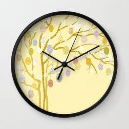 Easter Tree Wall Clock