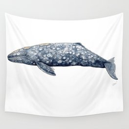 Grey whale Wall Tapestry