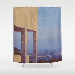 Elevated View Shower Curtain