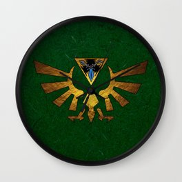 Tri Force of Zelda Wall Clock