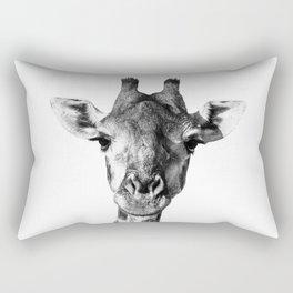 Giraffe Portrait I Rectangular Pillow