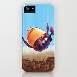 """""""Humpty Dumpty"""" (Mother Goose Retold-Book Cover) iPhone Case"""