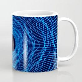 Wormhole Warp Black Hole -Blue- Coffee Mug