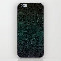 Circuitry Details iPhone Skin