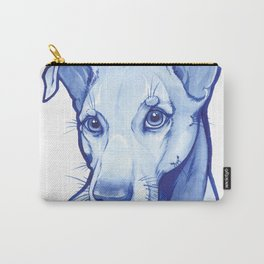 Blue Pittie Carry-All Pouch