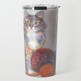 Purling Puss Travel Mug