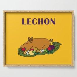 Filipino Kitchen Loteria - Lechon Serving Tray