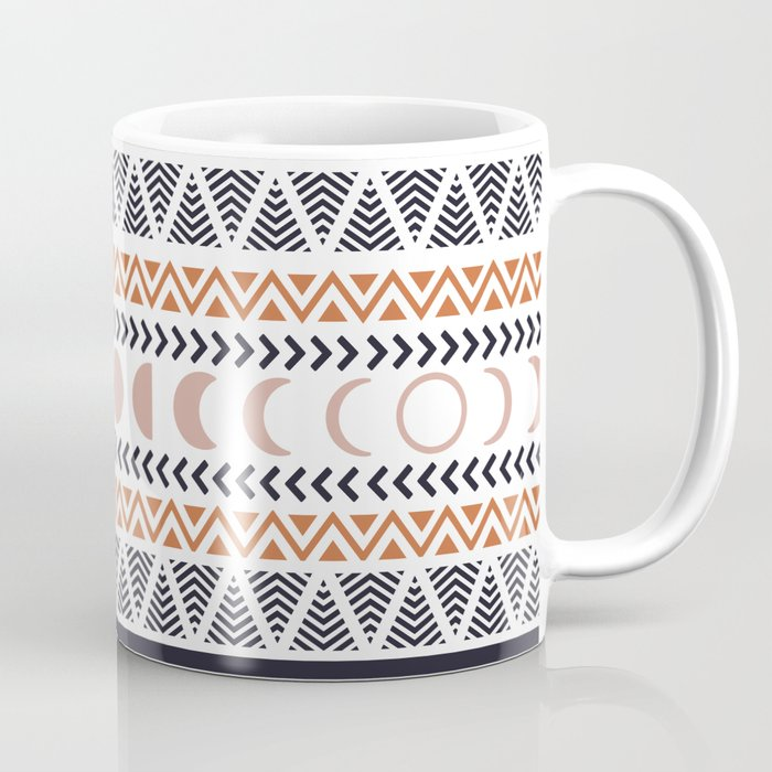 Boho Tribal Pattern Coffee Mug