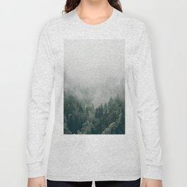 Foggy Forest 3 Long Sleeve T-shirt