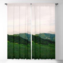 landscape near labin croatia summer Blackout Curtain