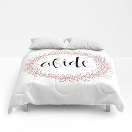 Abide Comforters