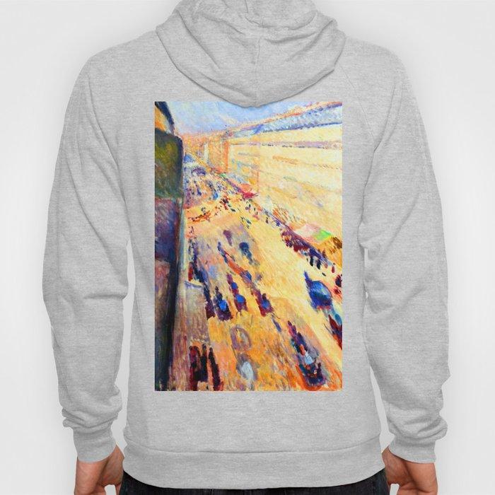Edvard Munch Rue de Rivoli Hoody