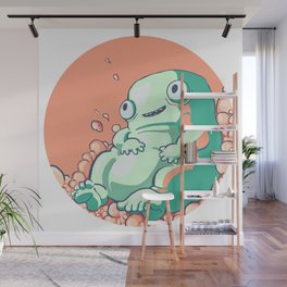 Cotton Candy Fluff Wall Mural