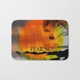 Fear Not Bath Mat