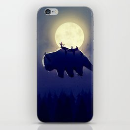 The End of All Things - Night Version iPhone Skin