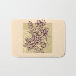 Lotus flower colors Bath Mat