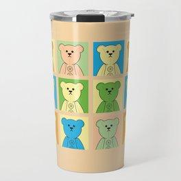 Grumpy Teds Pastel Block Travel Mug