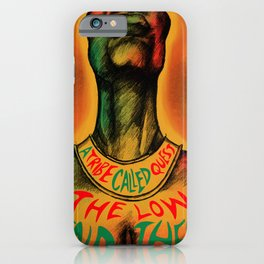A Tribe Called Quest Poster iPhone Case