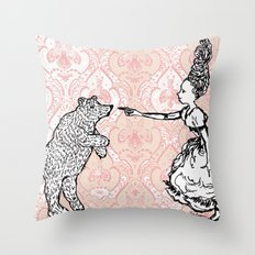 Espiègle / Mischievious Throw Pillow