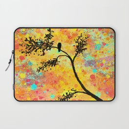 Bird on a Branch Laptop Sleeve