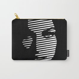 Face  portrait line style #society6 #decor #buyart #artprint Carry-All Pouch
