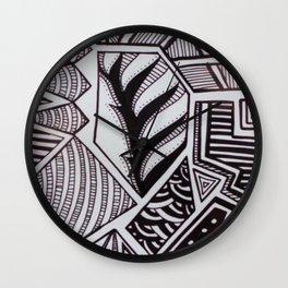Geometrico PB Wall Clock