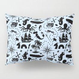 High Seas Adventure // Light Blue Pillow Sham
