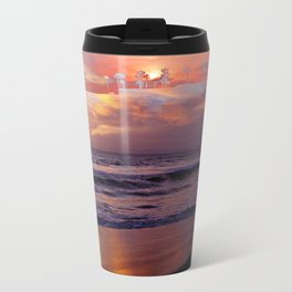 Island in the Sky Sunset by Aloha Kea Photography Travel Mug