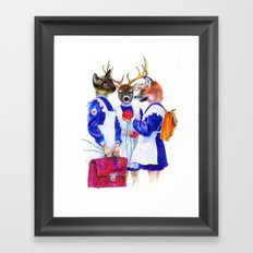 First of March Framed Art Print