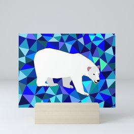 Rider of Icebergs Mini Art Print