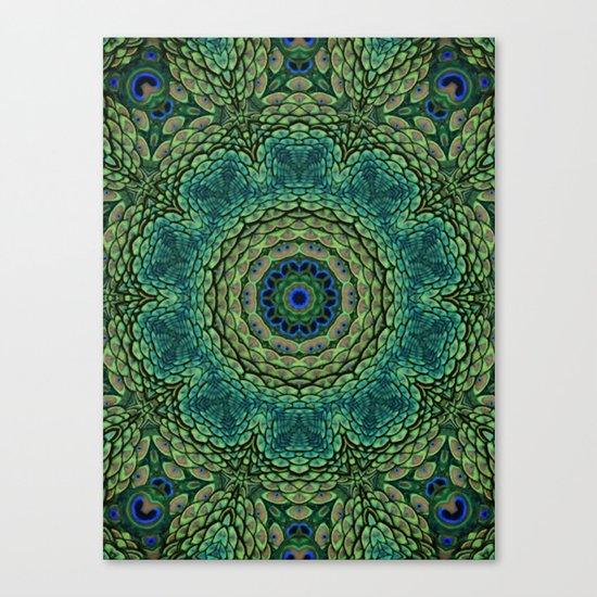 Shangri-La Mandala Canvas Print