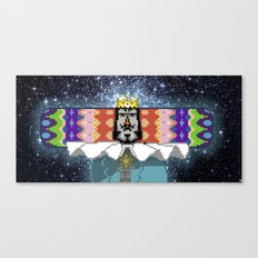 King of The Cosmos Canvas Print