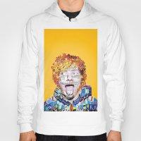 ed sheeran Hoodies featuring Ed Sheeran by Jack