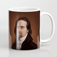 amy hamilton Mugs featuring Hamilton by days & hours