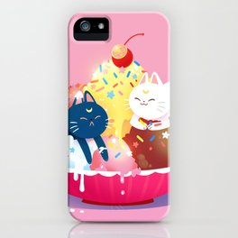 Moonie Sundae iPhone Case