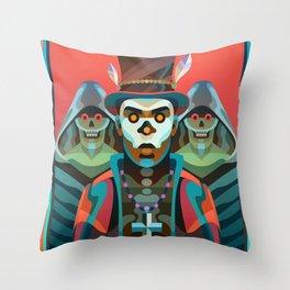 Baron Samedi Throw Pillow