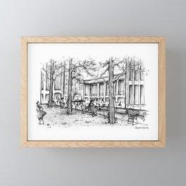 Lincoln Center, Summer Framed Mini Art Print