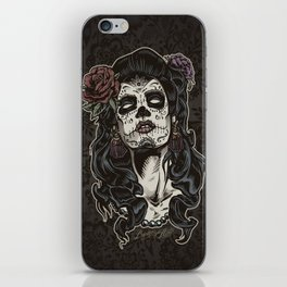 Day of The Dead Woman iPhone Skin