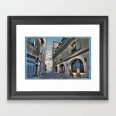 Far Beyond The Street Framed Art Print