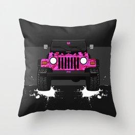 Pixie the Pink TJ Throw Pillow