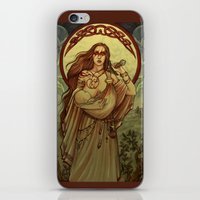 mother iPhone & iPod Skins featuring Mother by Natasa Ilincic