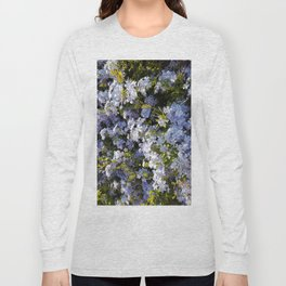 a violet flower in the heart of Athens Long Sleeve T-shirt